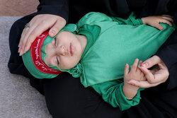 تبریز میں کربلا کے ششماہہ مجاہد کی یاد میں بچوں کی تقریب منعقد