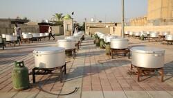 طبخ و توزیع ۳۷ میلیون و ۶۰۰ هزار پرس غذا در طرح اطعام حسینی