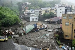 ۵ کشته و زخمی در پی وقوع رانش زمین در ژاپن