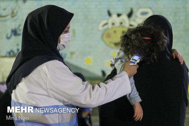 عزاداری شب های محرم در مدرسه سید الشهدای تبریز