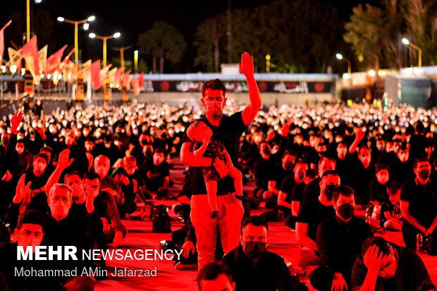 Mourning ceremonies of Muharram held by Tehraners