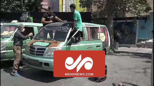 محرم الحرام میں گاڑیوں کا سب سے بڑا کاررواں