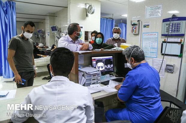 İran'da vaka sayısındaki düşüş devam ediyor