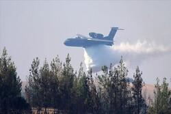 ترکی میں روسی فوج کا فائر فائٹنگ طیارہ گر کر تباہ/ 8 افراد ہلاک