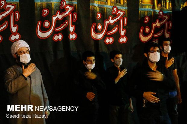 بازدید رئیس سازمان تبلیغات اسلامی از هیات های عزاداری در شب های محرم