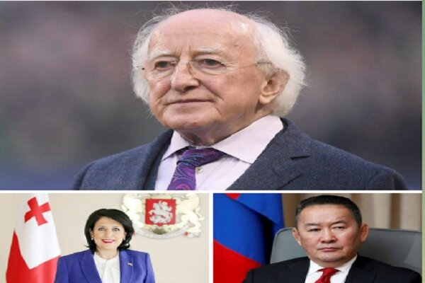 رؤسای جمهور ایرلند، گرجستان و مغولستان به رئیسی تبریک گفتند