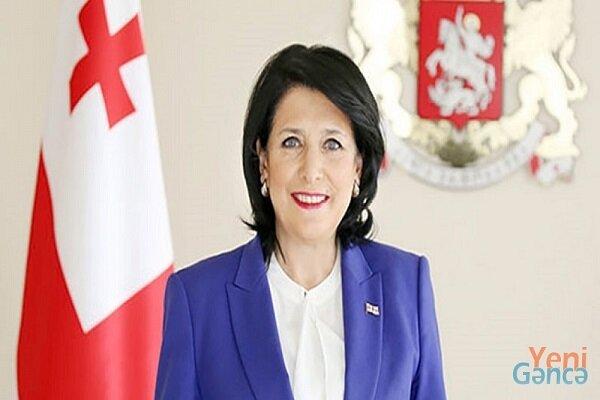 Gürcistan'dan Cumhurbaşkanı Reisi'ye tebrik mesajı