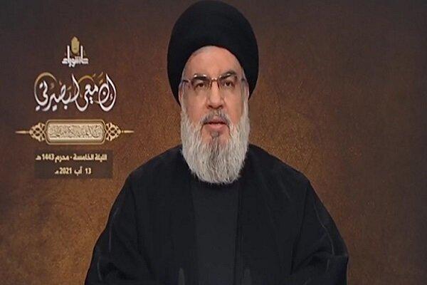 Nasrallah calls peace with Israeli regime'Haram'
