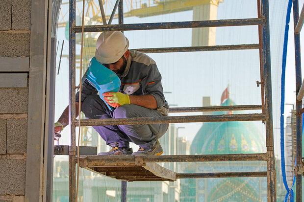 سازه جدید «تل زینبیه» به مرحله نماکاری رسید