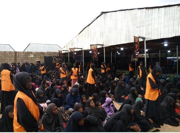 حال و هوای مراسم عزاداری سالار شهیدان در نیجریه