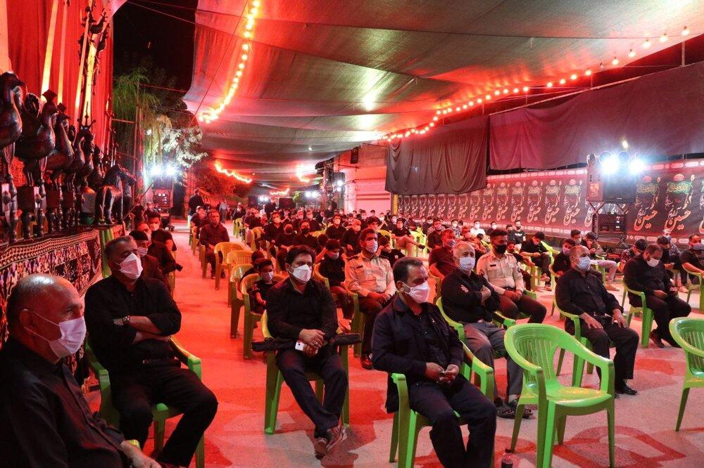 مراسم شب پنجم هیئت حضرت علی اکبر(ع) تهران برگزار شد