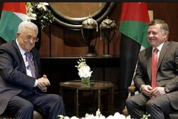 رایزنی محمود عباس با شاه اردن