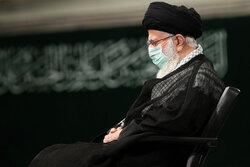 رہبر معظم کی موجودگی میں حسینیہ امام خمینی (رہ) میں پہلی مجلس عزا منعقد