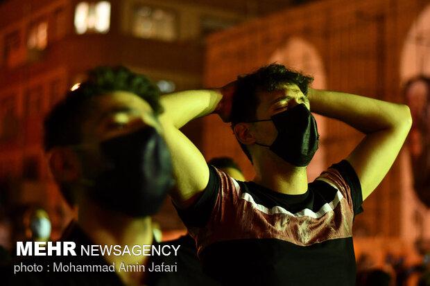عزاداری شب ششم محرم در هیئت الرضا (ع)