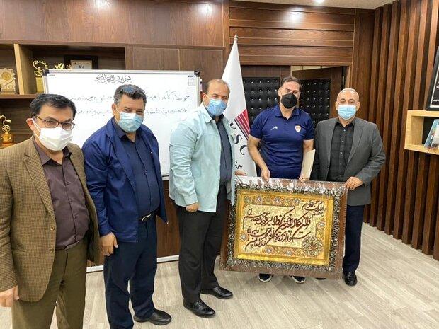 جلسه تودیع سعید آذری در فولاد برگزار شد