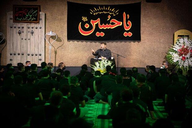 مراسم شب ششم هیئت روضه الحسنین(س) تهران