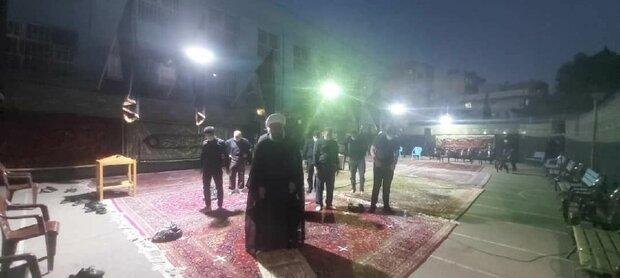 مراسم شب ششم هیت متوسلین به حضرت امام حسین(ع) تهران