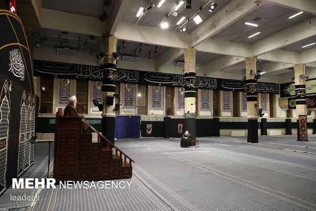 اولین شب مراسم عزاداری حضرت اباعبدالله الحسین (علیهالسلام)