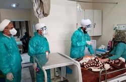 تداوم خدمترسانی بسیج طلاب البرز به بیماران کرونایی