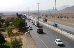 اعمال محدودیتهای ترافیکی در ورودی و خروجی نظرآباد