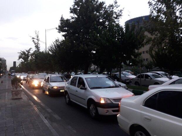ترافیک معابر پایتخت شروع شده است/ تردد سنگین اما روان