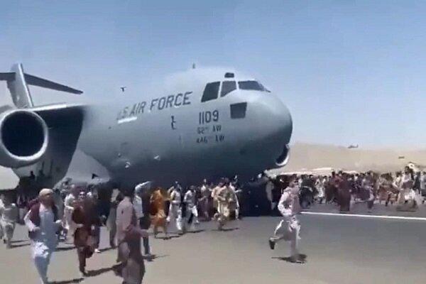 کابل ایئر پورٹ ٹر اب بھی امریکی موجود ہیں