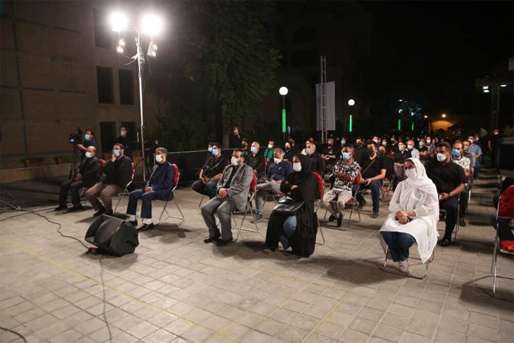 آیین یادبود علی سلیمانی برگزار شد/ درخواست برای ادای نذر هنری