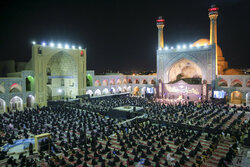 Muharram ceremony observed at Isfahan Grand Mosque
