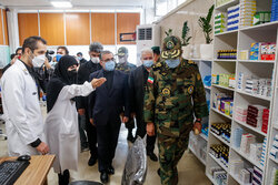 Pharmacy specific for Covid-19 patients inaugurated by Army