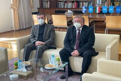 JCPOA revival discussed by Iranian, Russian envoys to Vienna