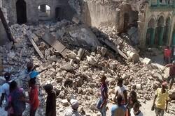 تلفات زلزله هائیتی به ۲۲۰۷ نفر افزایش یافت/ بیش از ۱۲ هزار زخمی