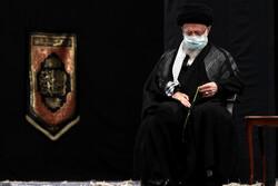 اقامة مراسم العزاء الحسيني ليلة العاشر من محرم بحضور قائد الثورة الاسلامية