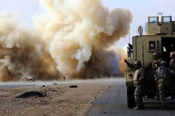 US military logistics convoy targeted in northern Iraq