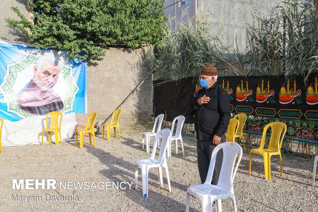 Muharram mourning in Bojnord