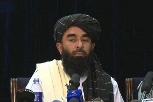 Taliban Sözcüsü'nün ilk basın toplantısı düzenlendi