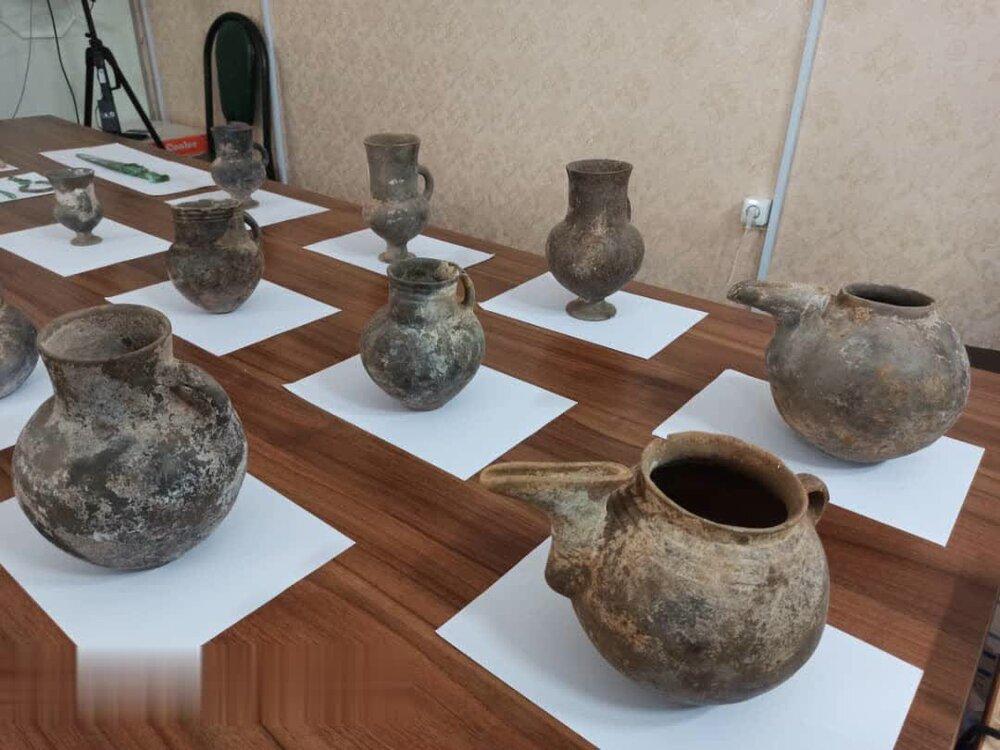 کشف چندین قطعه اشیاء تاریخی در شهرستان طارم