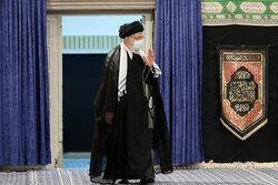 """Ayetullah Hamanei """"Tasua gecesi"""" matem törenine katıldı"""