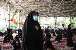 مراسم تاسوعای حسینی در مصلی دانشگاه تهران