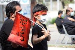 حرکت خودرویی عزاداران حسینی در کرمانشاه