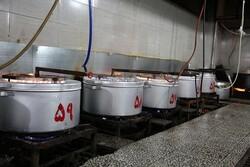 ۱۰۰۰۰ پرس غذای گرم در کرمانشاه طبخ و توزیع شد