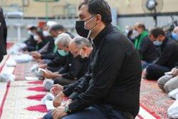 عزاداری تاسوعای حسینی محلات اردبیل در فضای باز برگزار شد