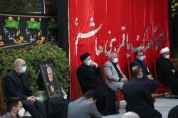 مراسم عزاداری روز تاسوعای حسینی(ع) با حضور رئیسجمهور برگزار شد