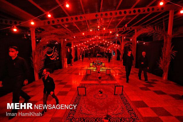 Mourning rituals held in Hamedan on Tasua night