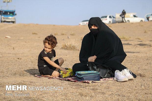 Mourning rituals of Muharram in deserts