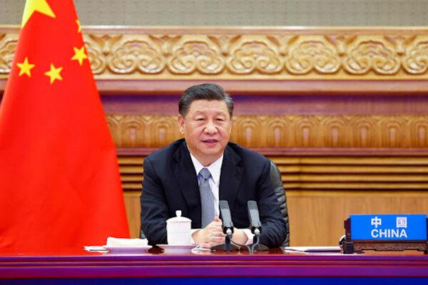رئیس جمهور چین از طریق مجازی در اجلاس سازمان ملل سخنرانی می کند