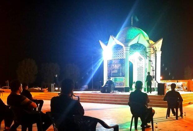 مراسم تاسوعای حسینی در گناوه برگزار شد