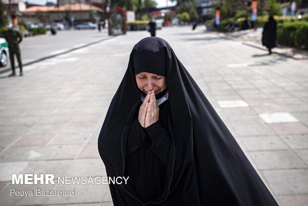 Tasua mourning ceremony in Rasht
