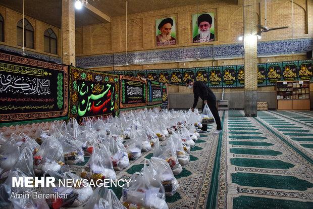 ۶ هزار سبد کالا بین نیازمندان استان سمنان توزیع شد