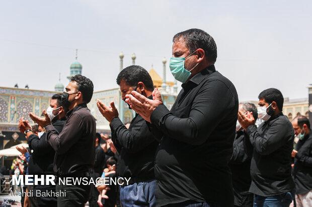 Kutsal Kum kentinde Tasua günü merasimi