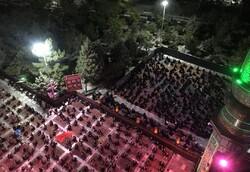 مراسم عزاداری سرور و سالار شهیدان توسط هیئت ام ابیها (س) رشت